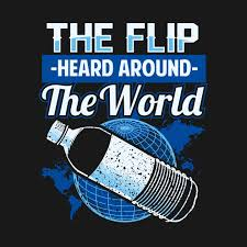 Challenge Trend Water Bottle Flip Challenge School Trend Around World Shirt