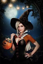halloween background deviantart overwatch witch mercy 5k hd wallpaper by 3redin on deviantart
