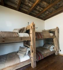 Timber Bunk Bed Timber Bunk Beds The Ladder Is Telephone Steps Built By