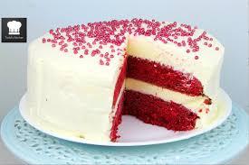 red velvet ice cream cake youtube