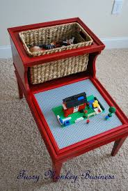 fussy monkey business lego table
