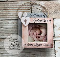 godparent christmas ornaments set of 2 picture frame ornaments