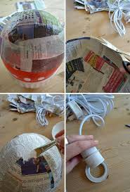 chandelier style lamp shades paper mache japanese style diy lamp shade paper mâché