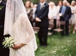 Outdoor Backyard Wedding A Delicate Tuscan Inspired Backyard Wedding Once Wed