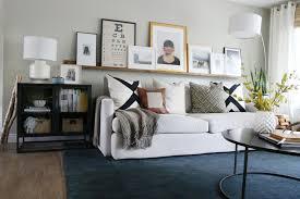 Sideboard In Living Room Subtle Fall Living Room Decor Crate And Barrel Blog