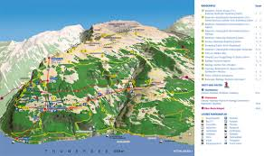 Cable Car Map Niederhorn Beatenberg St Beatus Höhlen Excursion