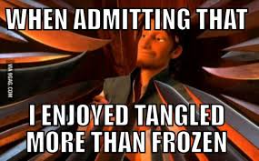 Frozen Movie Memes - not a popular opinion apparently movie people and disney memes