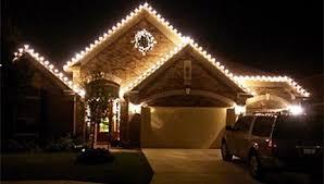 christmas lighting lit professional lighting