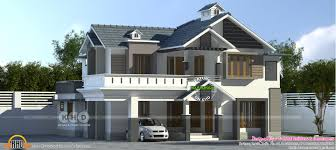 Kerala Home Design Khd 2361 Sq Ft Modern House 4 Bedroom Kerala Home Design And Floor Plans