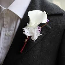 Corsage And Boutonniere Cost Aliexpress Com Buy Artificial Calla Lilies Bride Wrist Corsage