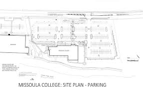 University Of Montana Campus Map by Parking Missoula College University Of Montana University Of