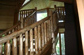 rustic staircases u2014 barn wood furniture rustic barnwood and log