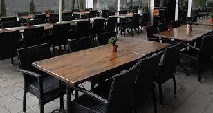 Used Restaurant Patio Furniture Hand Weaving Pe Rattan Chair Furniture Set Used In Restaurant And