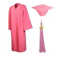 pink graduation cap pink graduation cap and gown