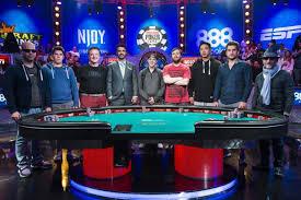 wsop final table the nine wsop news wsop main event deals out the 2015 november nine