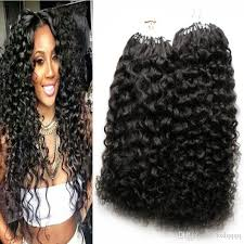 hair extensions uk afro curly micro ring loop hair extensions 1g remy