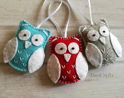 owl ornaments owl ornament etsy