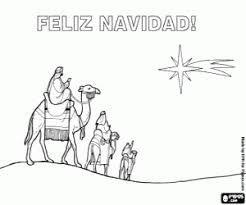 feliz navidad christmas card cards coloring pages printable
