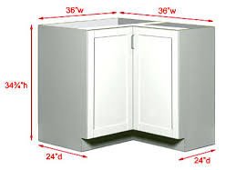 Kitchen Cabinet Sizes And Dimensions Getting Them Right Is - Kitchen wall corner cabinet