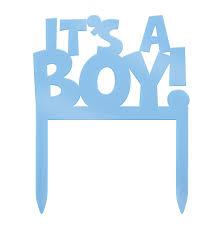 plastic it u0027s a boy baby shower cake topper amazon ca home u0026 kitchen