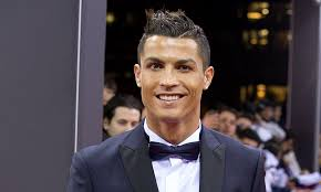 hairstyles to suit fla cristiano ronaldo and son cristiano jr get matching hair cuts