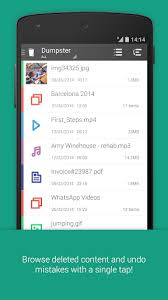 undelete apk dumpster undelete restore pictures and 2 15 280t db7554