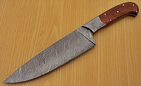 folded steel kitchen knives rk l 1319 damascus steel chef knife marindi wood handle best