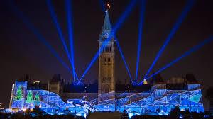 Light Show Lights Sound And Light Show On Parliament Hill Northern Lights Ottawa