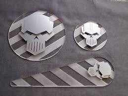 warhammer 40k 40000 blast templates pack space chaos marines iron