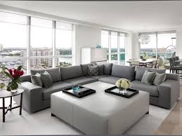 modern white and grey living room centerfieldbar com