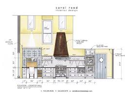 restaurant kitchen dimensions interior design