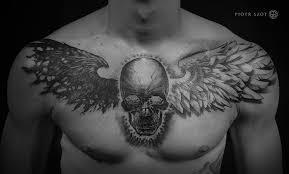 chest skull by piotrszot on deviantart