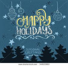 happy holidays words stock images royalty free images vectors