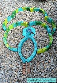 landscaping materials turned into garden art hometalk