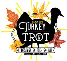 five early bird thanksgiving turkey trot 5k 10k 15k half