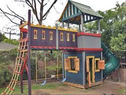 Backyard Forts For Kids Clubhouse Fort Castle No Adults Allowed Pallets