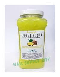 Scrub Viva nail supply citynail supply cityviva spa sugar scrub pineapple