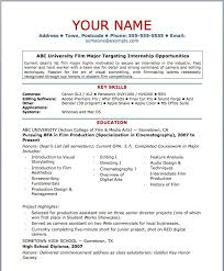 Free Basic Resume Template 100 Basic Resume Templates For Students Examples Listing A