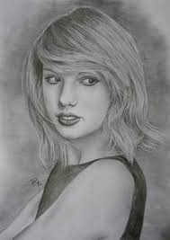 taylor swift by rosabelledraws on deviantart