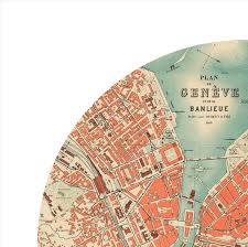 geneva map geneva city poster city map poster print maps and