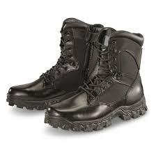 rocky men u0027s alpha force waterproof side zip duty boots 115827
