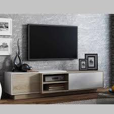 Meuble Tv Taupe Design by Meuble Tv Sigma Nature Azura Home Design