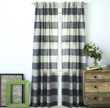 Brown And White Striped Curtains Hillcrest Gray And White Striped Curtains Blue And White