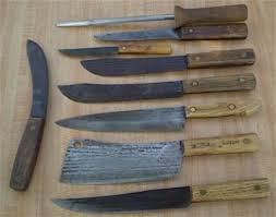 hickory kitchen knives antiques and gifts vintage hickory knives