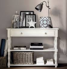 white console table with drawers furniture white sofa table with storage remarkable on furniture