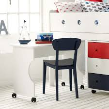 Midi Bed With Desk Frooti Midsleeper Bed Chest Of Drawers Bookcase Desk Redwhiteblue