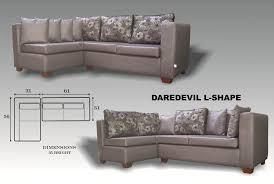 L Shape Sofa Size L Shape Sofa 434
