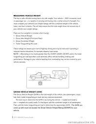 nissan murano jack points nissan murano 2012 2 g towing guide