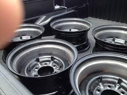 lexus steel wheels for sale five fj40 steel wheels widened to 8