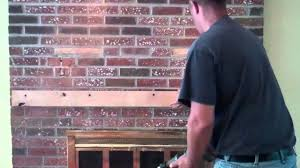 how to hide wires wall mount tv installation of tv over brick fireplace customized solution youtube